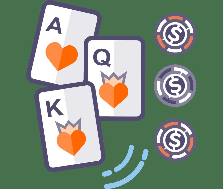 Hrajte Three Card Poker online – Top  najlepšie platiacich Online Kasíno 2021