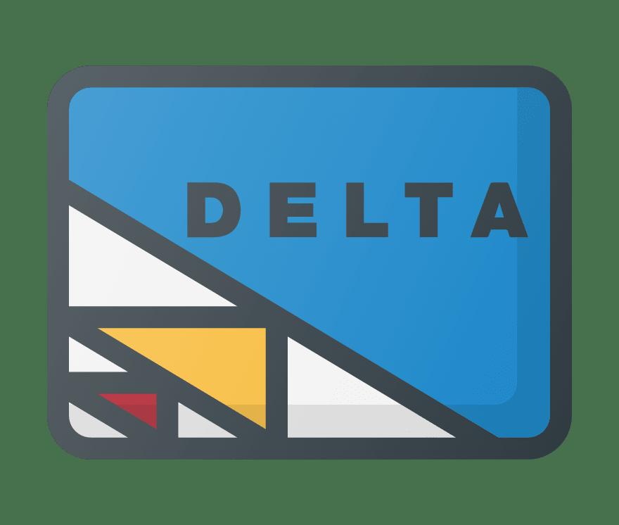 Top  Delta Online Kasínos 2021 -Low Fee Deposits