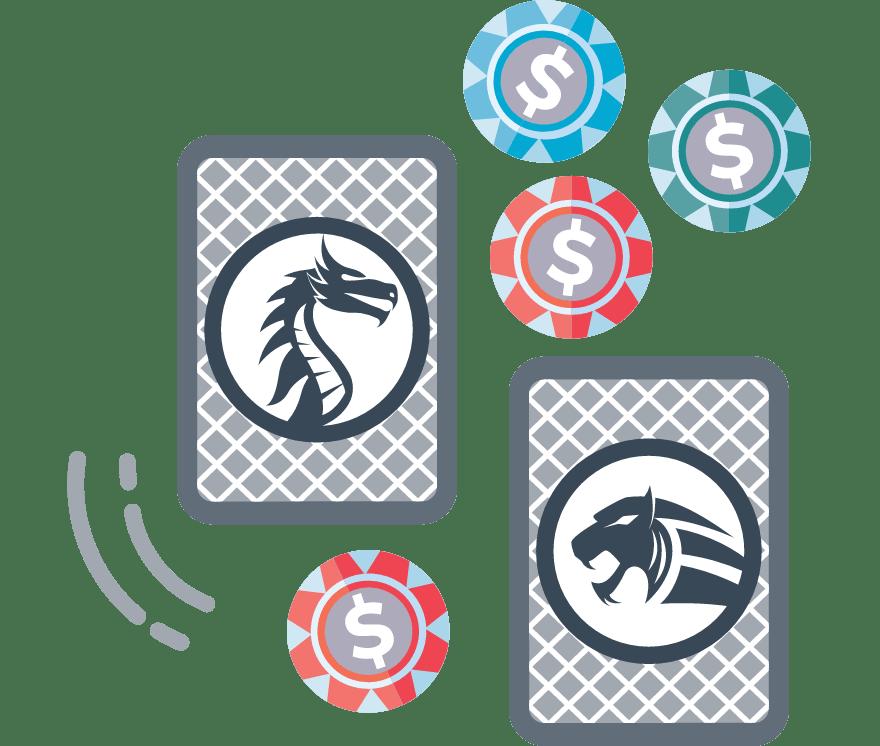 Hrajte Dragon Tiger online – Top  najlepšie platiacich Online Kasíno 2021