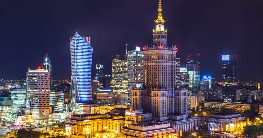 Poľské online kasína: Internetové hazardné hry v Poľsku
