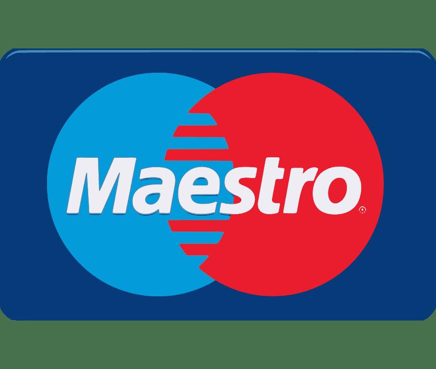 Top  Maestro Online Kasínos 2021 -Low Fee Deposits